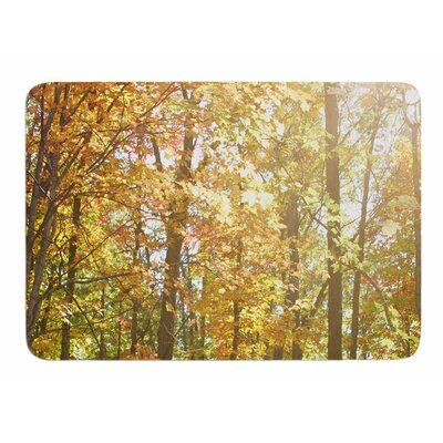 Autumn Trees 2 by Sylvia Comes Memory Foam Bath Mat