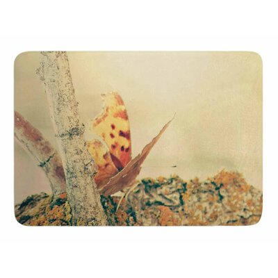 Monarch Butterfly by Sylvia Comes Memory Foam Bath Mat
