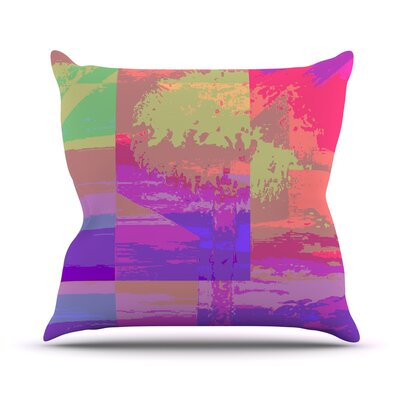 Impermiate Poster Outdoor Throw Pillow