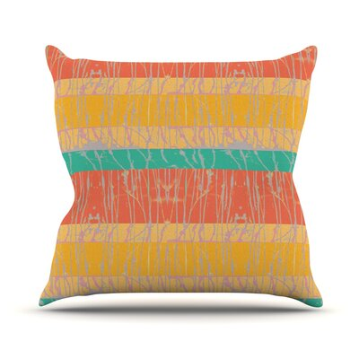 Desert Splatter Outdoor Throw Pillow