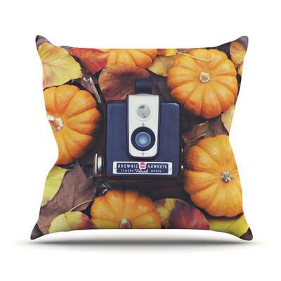 The Four Seasons: Fall Outdoor Throw Pillow