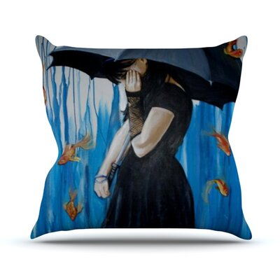 Sink or Swim Outdoor Throw Pillow