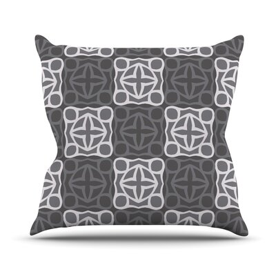 Granny Goes Modern Outdoor Throw Pillow