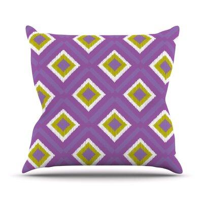 Spash Tile Outdoor Throw Pillow