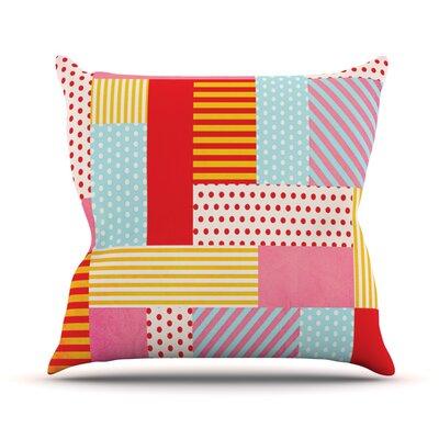 Geometric Pop Outdoor Throw Pillow