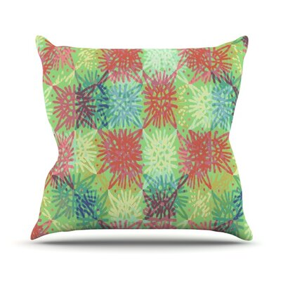 Multi Lacy Outdoor Throw Pillow