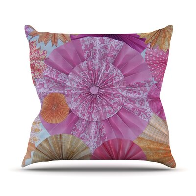 Blossoming Outdoor Throw Pillow