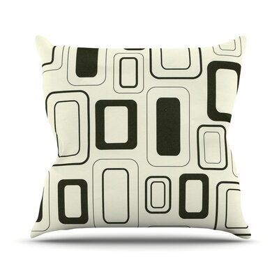 Cubes For Days Outdoor Throw Pillow
