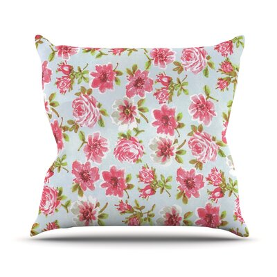 Petals Forever Outdoor Throw Pillow