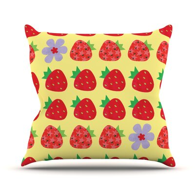 Seasons Summer Outdoor Throw Pillow
