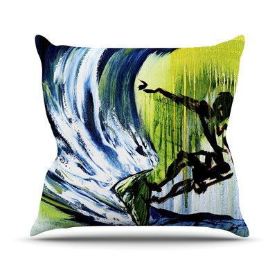 Glide Outdoor Throw Pillow