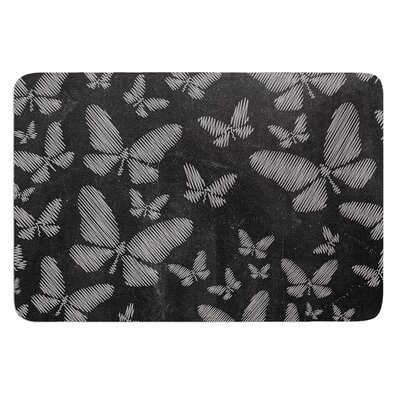 Butterflies III by Snap Studio Bath Mat