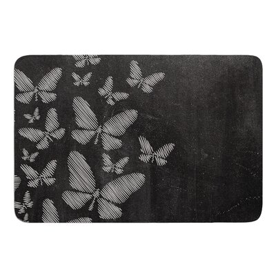 Butterflies IV by Snap Studio Bath Mat