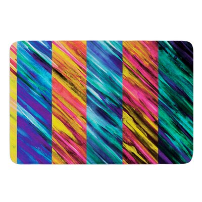 Set Stripes I by Theresa Giolzetti Bath Mat