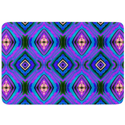 Dark Diamond by Anne LaBrie Bath Mat Size: 17W x 24L
