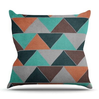 Southwest by Catherine McDonald Outdoor Throw Pillow