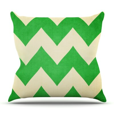 Granny Smith by Catherine McDonald Outdoor Throw Pillow
