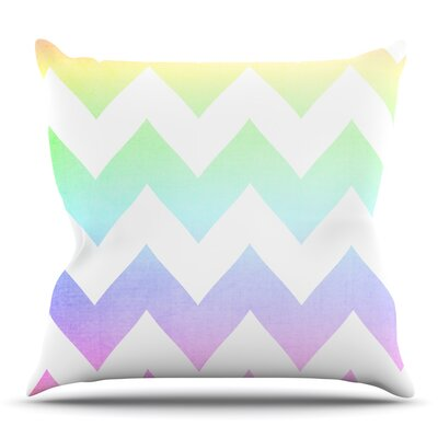 Watercolor by Catherine McDonald Outdoor Throw Pillow