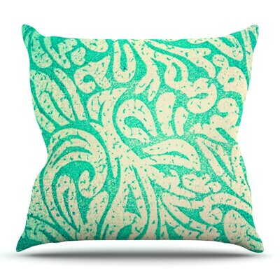 Spring Paisley by Alveron Outdoor Throw Pillow