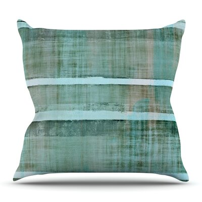 Line Up by CarolLynn Tice Outdoor Throw Pillow