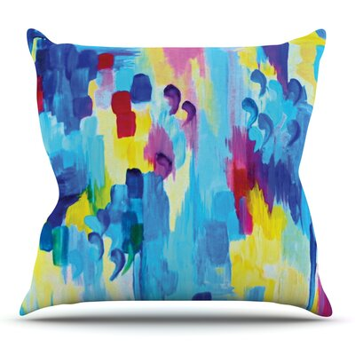 Dont Quote Me, Revisited by Ebi Emporium Outdoor Throw Pillow