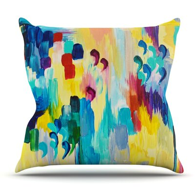 Dont Quote Me by Ebi Emporium Outdoor Throw Pillow
