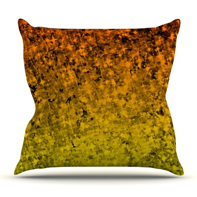 Romance Me in Tangerine by Ebi Emporium Outdoor Throw Pillow