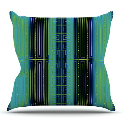 Deco City by Nina May Outdoor Throw Pillow
