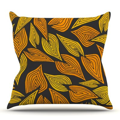 Autumn II by Pom Graphic Design Outdoor Throw Pillow