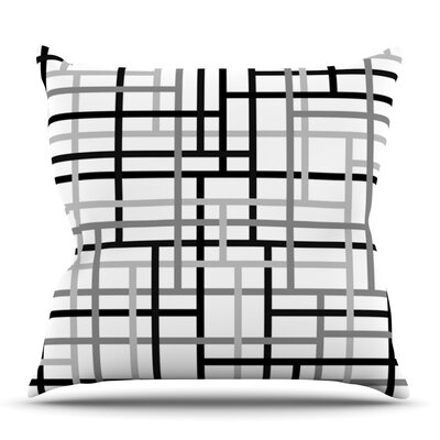Veza V by Trebam Outdoor Throw Pillow
