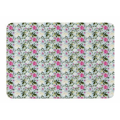 Romantic French Park by Mayacoa Studio Memory Foam Bath Mat