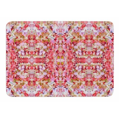 Floral Reflections by Carolyn Greifeld Memory Foam Bath Mat