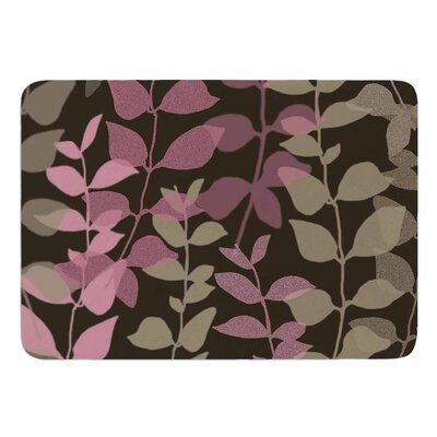 Leaves of Fantasy 2 by Carolyn Greifeld Memory Foam Bath Mat