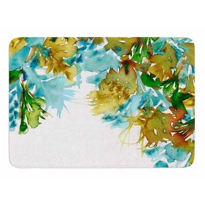 Floral Cascade 9 by Ebi Emporium Memory Foam Bath Mat