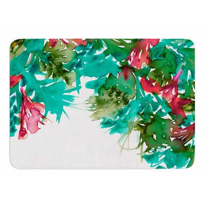Floral Cascade 7 by Ebi Emporium Memory Foam Bath Mat