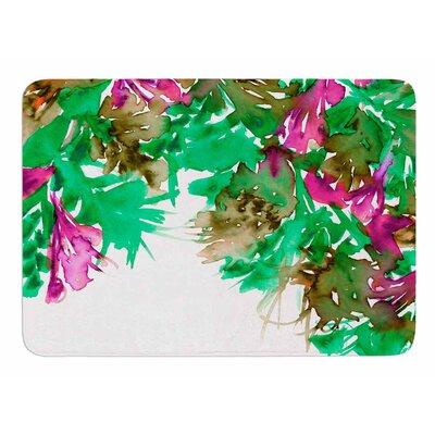 Floral Cascade 6 by Ebi Emporium Memory Foam Bath Mat