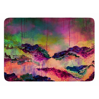 Its a Rose Colored Life 3 by Ebi Emporium Memory Foam Bath Mat
