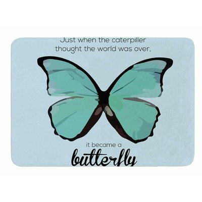 Butterfly by NL Designs Memory Foam Bath Mat