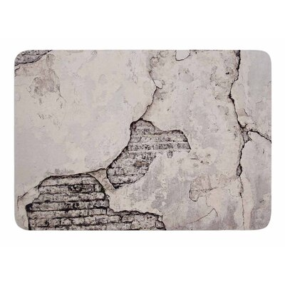 Crumbling Wall by Sylvia Cook Memory Foam Bath Mat
