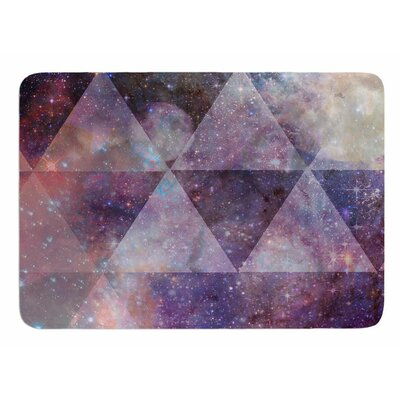 Geometric Stars by Suzanne Carter Memory Foam Bath Mat
