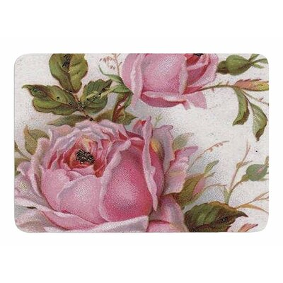 Vintage Rose by Suzanne Carter Memory Foam Bath Mat