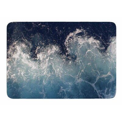 Sea Spray by Suzanne Carter Memory Foam Bath Mat