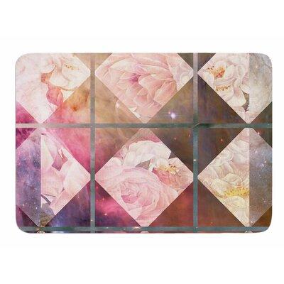 Floral Universe by Suzanne Carter Memory Foam Bath Mat