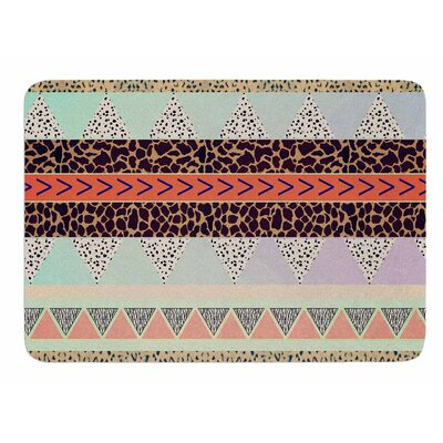 Animal Print Tribal by Vascular Nat Memory Foam Bath Mat