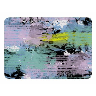 Watercolor Texture by Vascular Nat Memory Foam Bath Mat