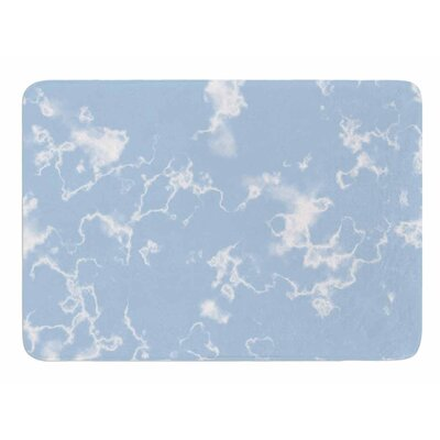Marble Clouds by Vascular Nat Memory Foam Bath Mat