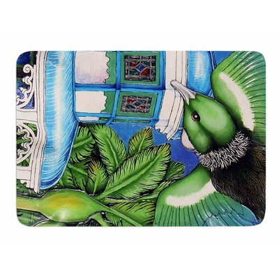 New Zealand by Ninny Thompson Memory Foam Bath Mat