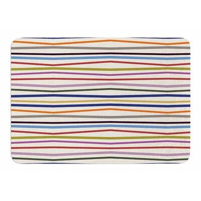Stripe Fun by Twenty Sap Memory Foam Bath Mat