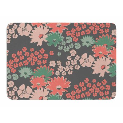 Natures Bouquet by Zara Martina Manson Memory Foam Bath Mat