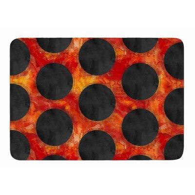 Volcanic Holes by Zara Martina Manson Memory Foam Bath Mat